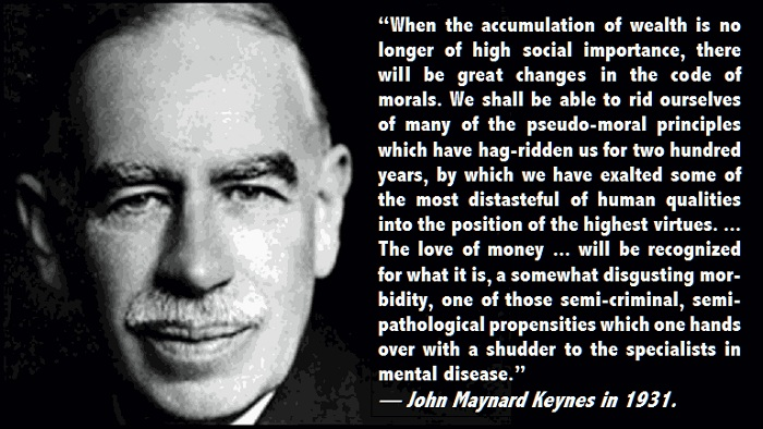 """a general theory of the importance of money stock in keynesian culture The general theory of employment, interest and money: """"it is astonishing what foolish things one can temporarily believe if one thinks too long alone, particularly in economics"""" """"speculators may do no harm as bubbles on a steady stream of enterprise."""