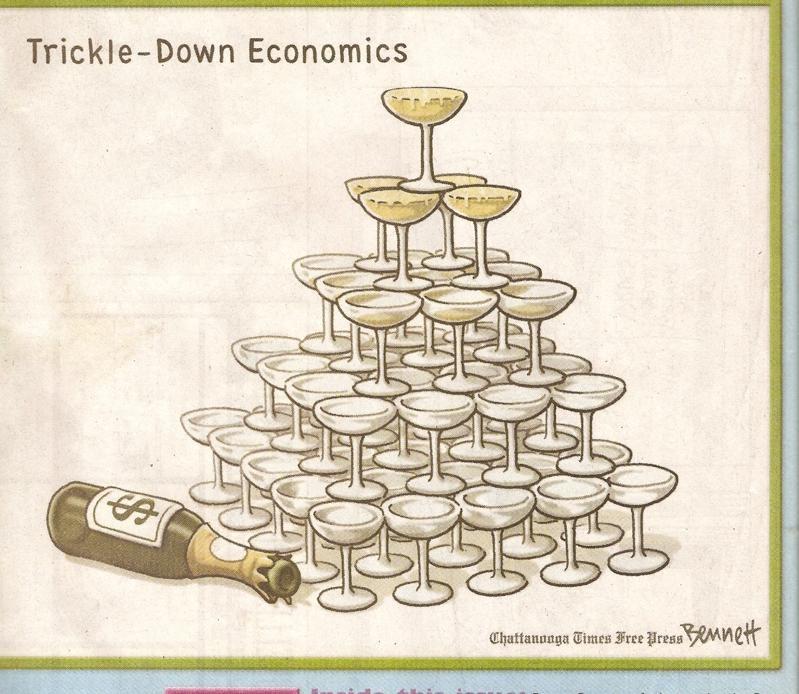 Trickle down economics - 3 part 3