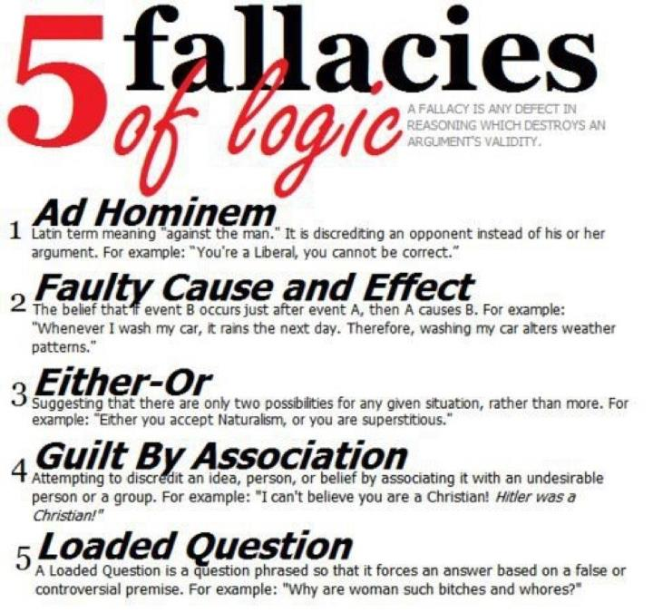 logical fallacies essay oh the fallacies of logic